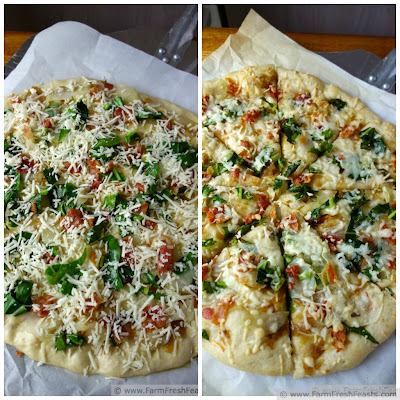 Shaved Kohlrabi Meat/No Meat Pizza   Farm Fresh Feasts