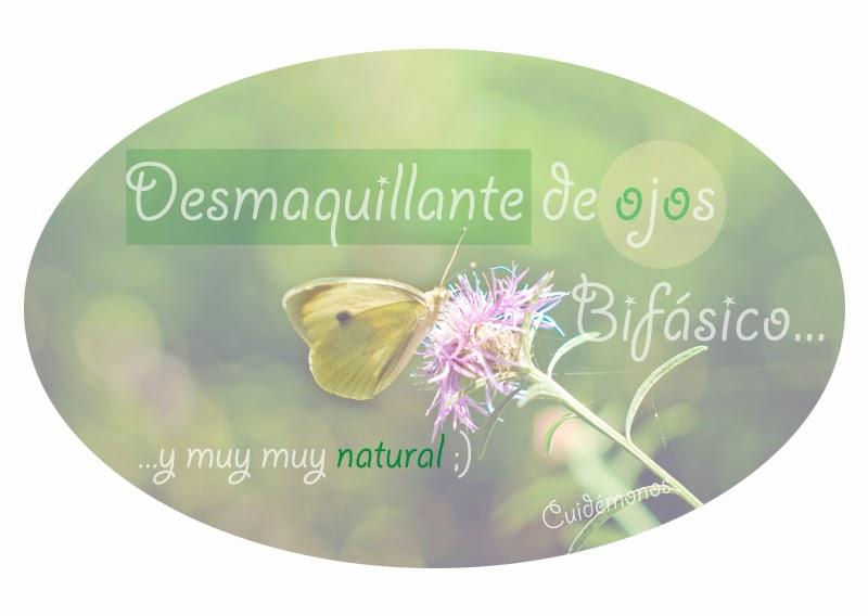 Desmaquillante natural, cosméticos