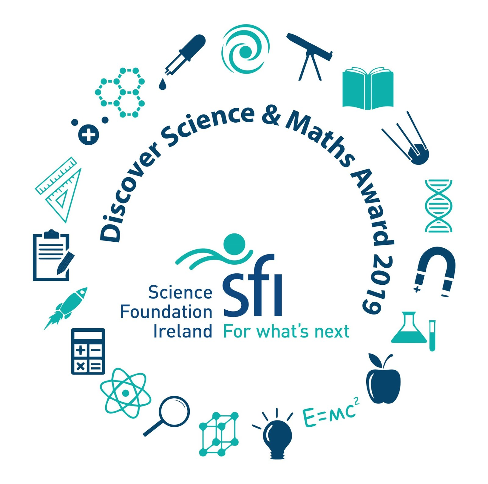 Discover Primary Maths and Science Plaque - STEM Excellence award 2018/2019