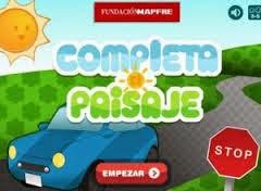 http://losmaspequenosyseguridadvial.com/#/juegos/completa-el-paisaje