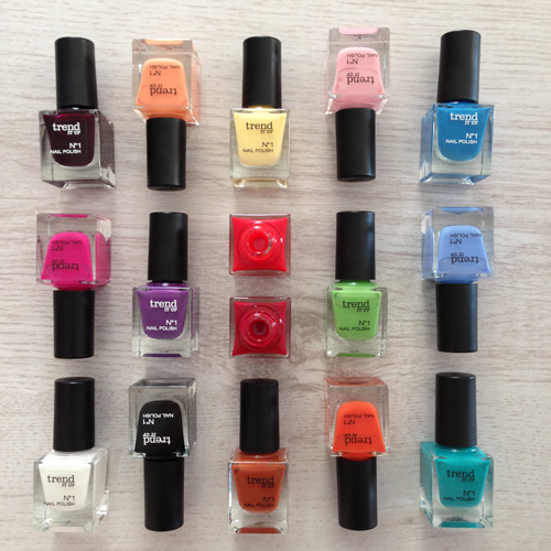 trend it up dm drogeriemarkt neue Eigenmarke nagellack nailpolish