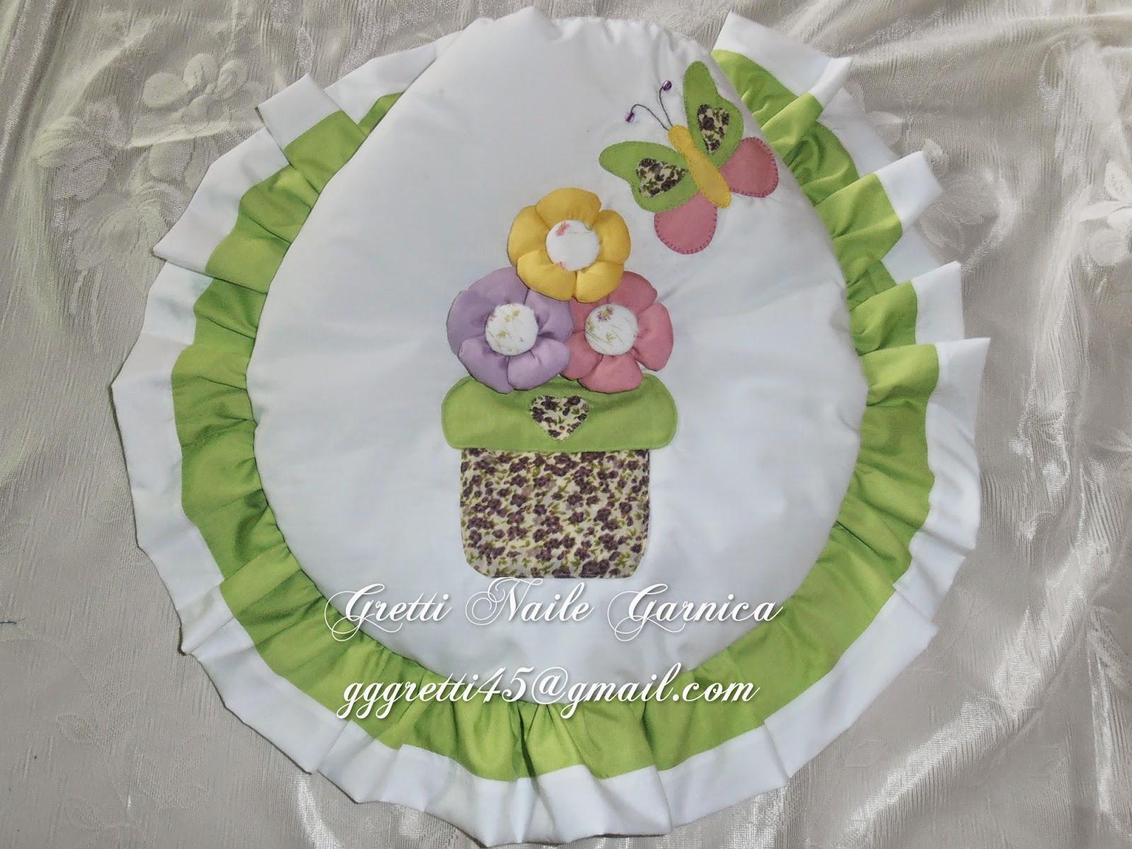 Juegos De Baño Verde:Juego de baño con maceta y flores