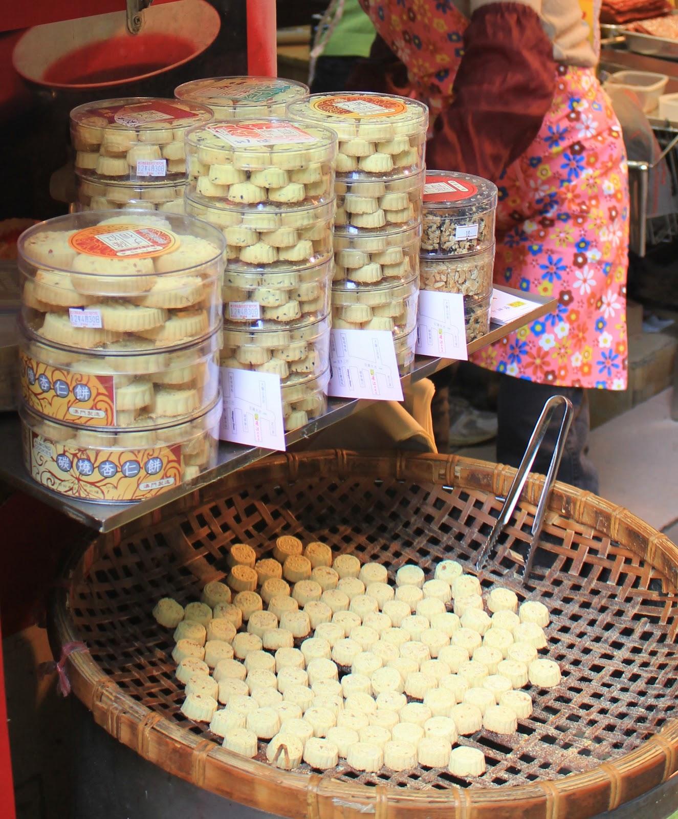 Almond Cookies Macau The Famous Macau Almond