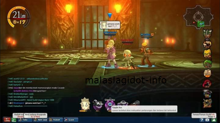 Video Tutorial (Nyusul) Source Lost Saga Permanent AOB Permanent ( dah