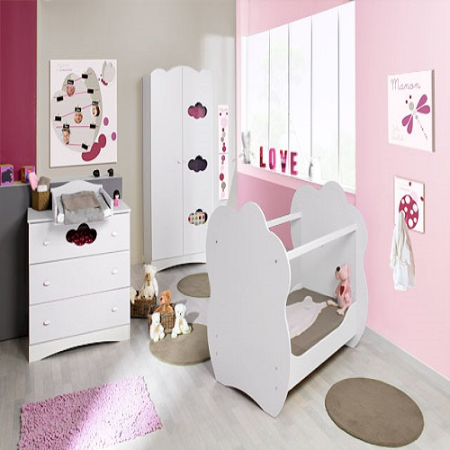 D coration chambre junior fille for Chambre a coucher junior
