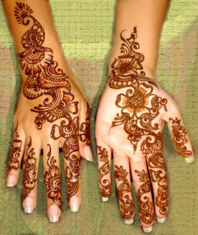 Girls Attractive Mehndi Designs Beautiful Henna Latest