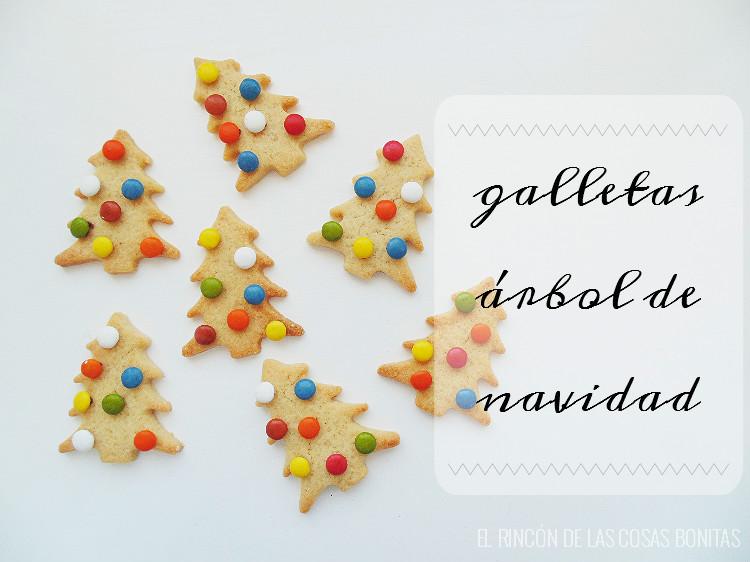 galletas árbol de navidad con lacasitos