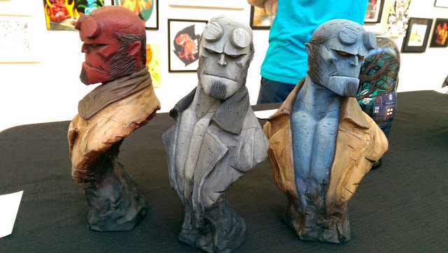 Hero Complex Gallery: Hellboy 20th Anniversary Show