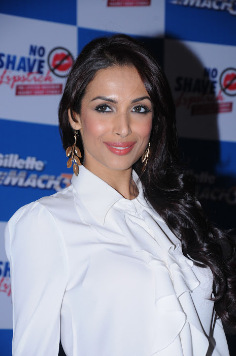 malaika arora at no shave no lipstick launch cute stills