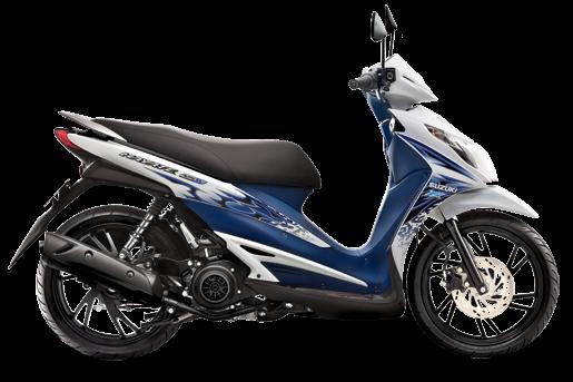 Hayate FI 125cc,những xe tay ga dưới 40 triệu