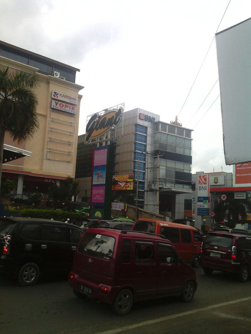 shopping at Moka Lampung