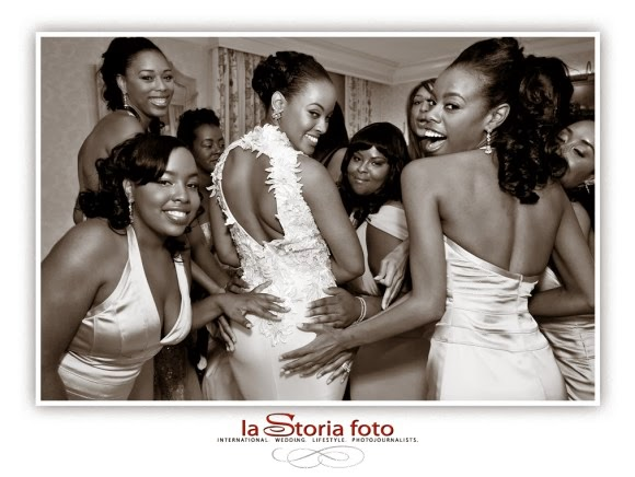 Basketball Wives Malaysia & Jannero Pargo Wedding Day Photos
