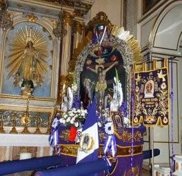 Imagen del Señor de los Milagros de Valencia España
