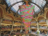 sapin aux galeries lafayette