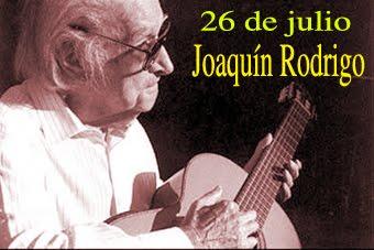 Maestro Joaquín Rodrigo