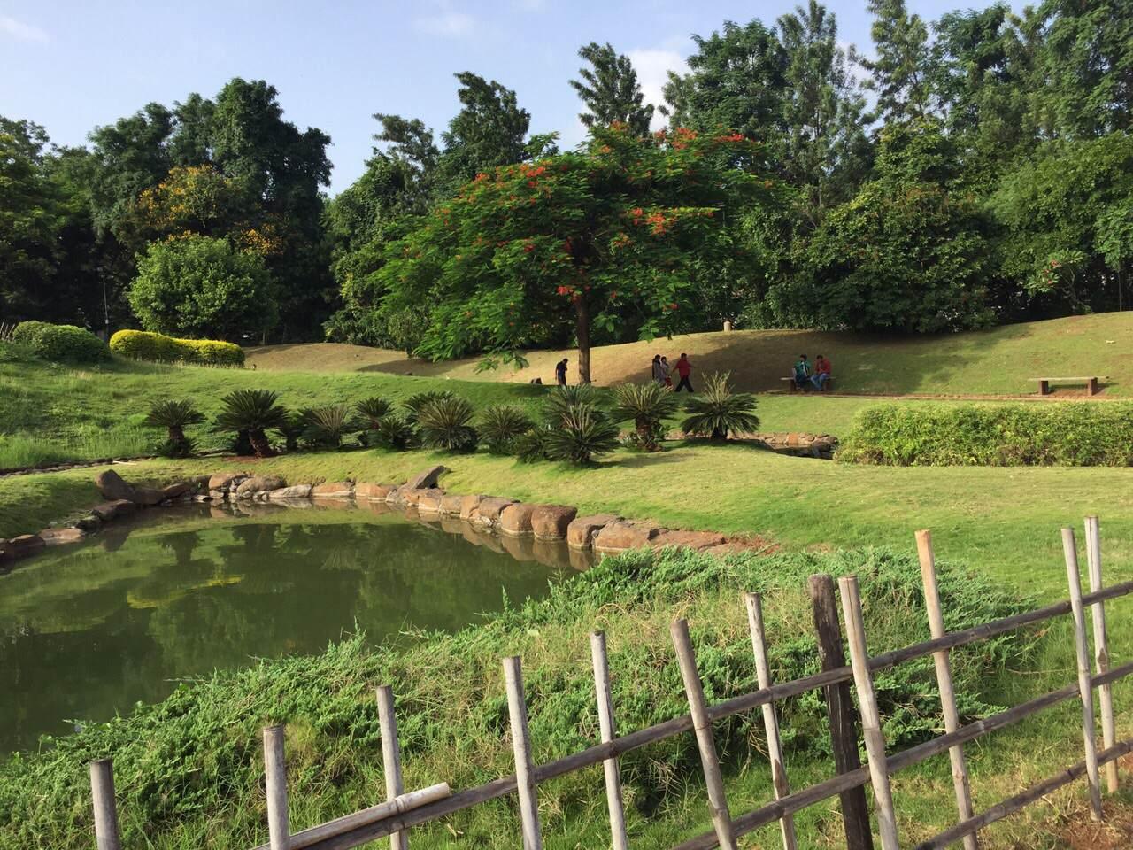 The Foodietrails The Japanese Garden In Pune Pu La Deshpande Park