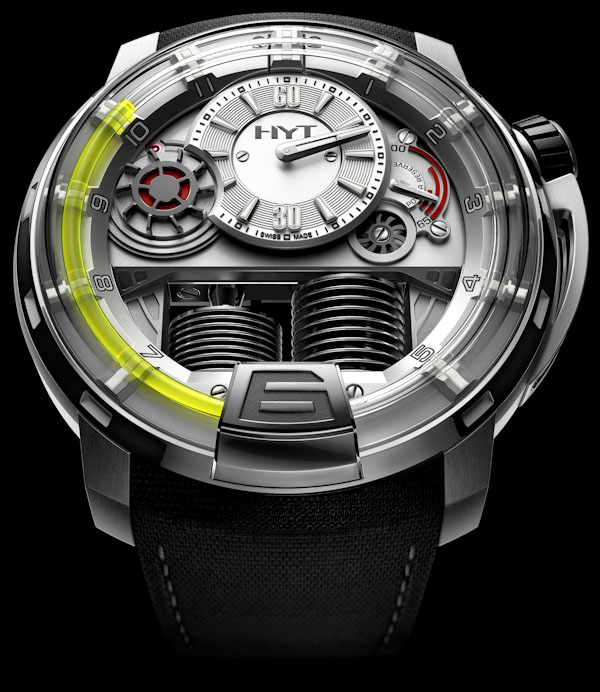 Watchismo times sneak peek to baselworld 2012 hyt h1 for Watchismo