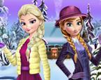 Elsa ve Anna Kış Modası Yeni