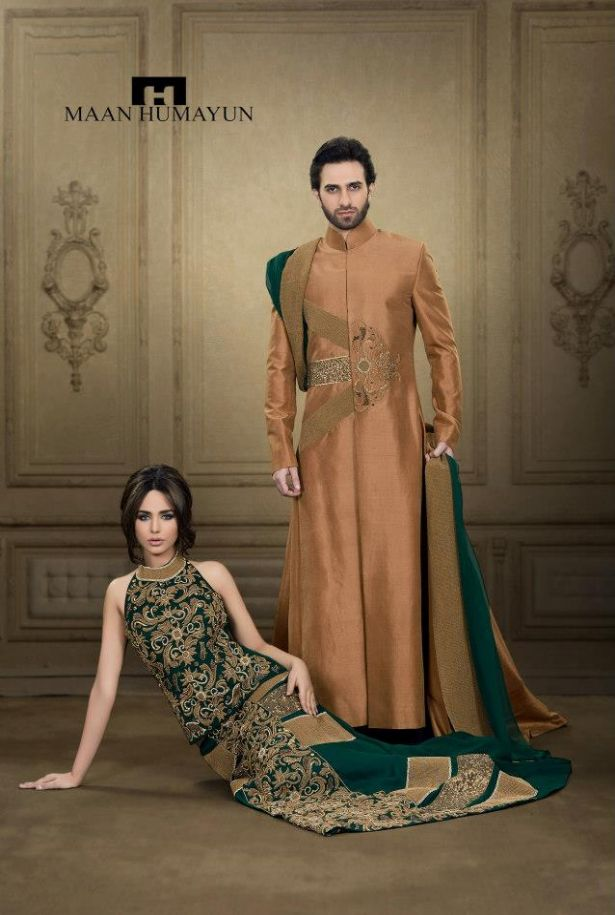 MH New Semi Formal Wear Dresses Collection 2013 for Men and Women ...