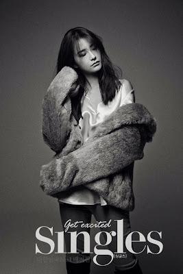 Jung Yoo Mi - Singles Magazine January Issue 2014