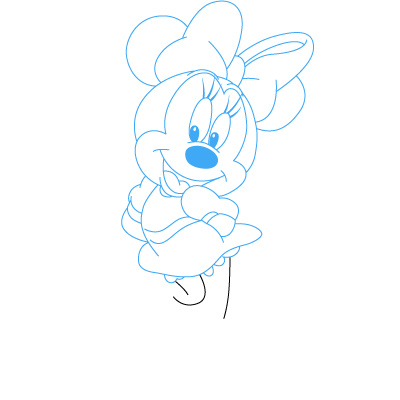 A 4 adila for How do you draw a mouse