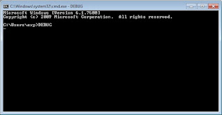 debug command prompt