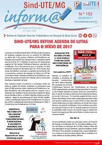 Boletim Inform@ nº 152 - Estadual