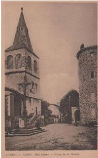 CPA Aurec sur Loire, Haute-Loire