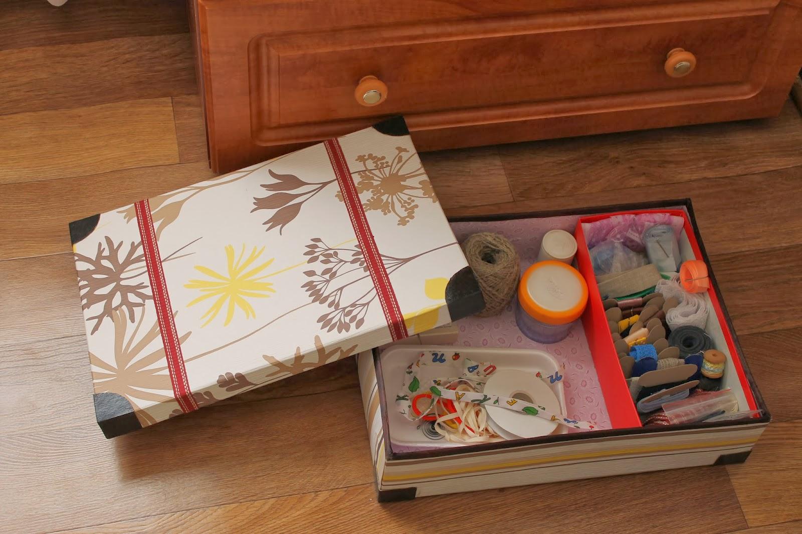 Поделки из картонных коробок из под обуви своими руками