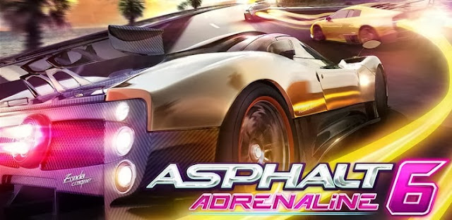 Asphalt 6: Adrenaline v1.3.3 Apk + Data Full