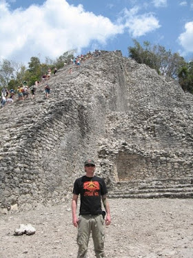 The Ancient Mayan Ruin of Coba