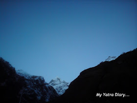 Neelkanth peak in the Garhwal Himalayas, Badrinath in Uttarakhand