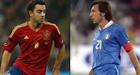 Spanyol vs Italia hasil Imbang!