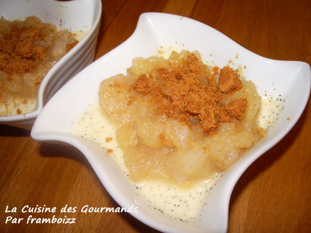 La cuisine des gourmands panna cotta pommes poires l - Maison de la pomme et de la poire ...