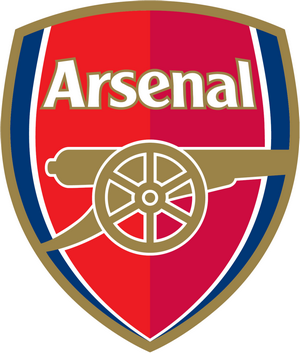 Logo Arsenal Klub Sepak Bola Liga Inggris