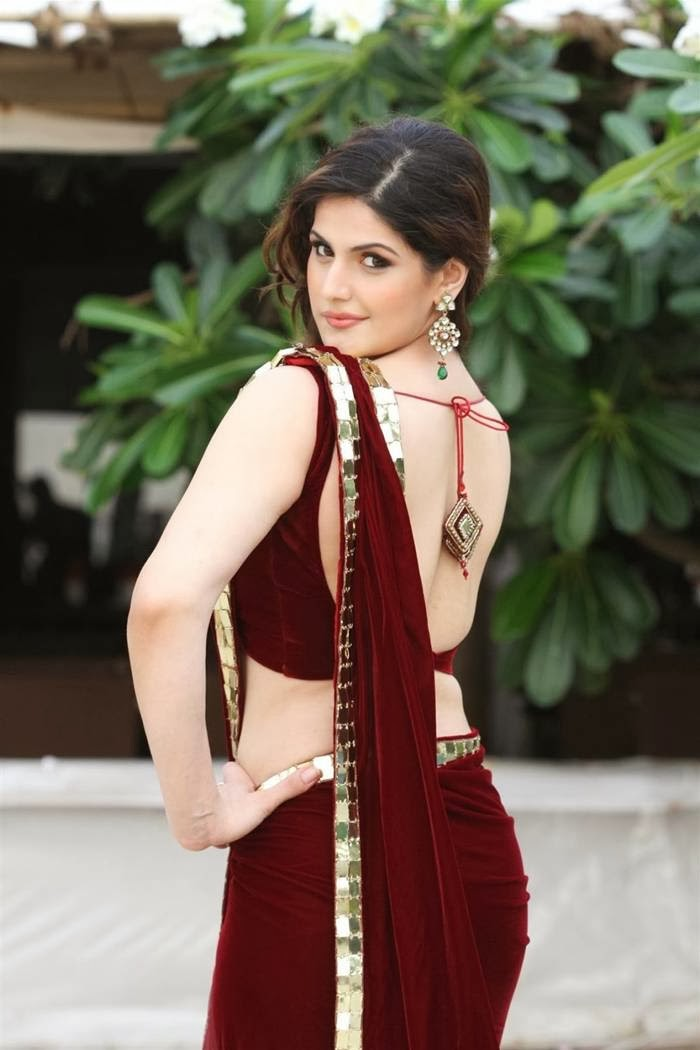 Zarine khan dressed in beautiful sarees