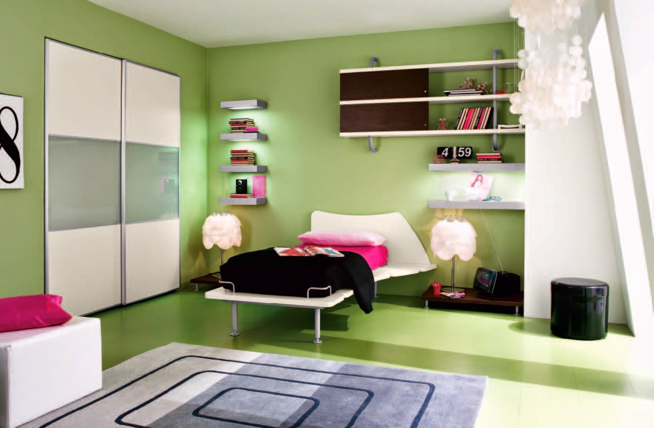 Paint The Walls in Vibrant Colors