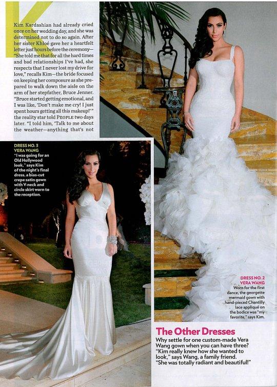 2016 Wedding Dresses And Trends Kim Kardashian Wedding Dresses By Vera Wang