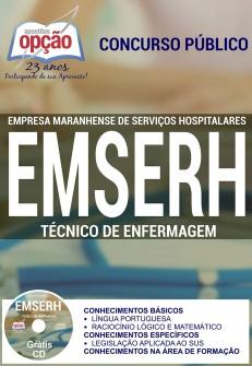 Apostila Concurso EMSERH - MA - Técnico de Enfermagem - 2016