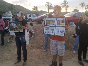 Crónica de la performa Anti-Circo en Cartagena: