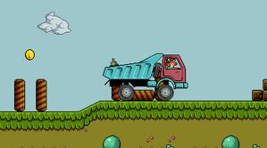 لعبة سيارة المهرج