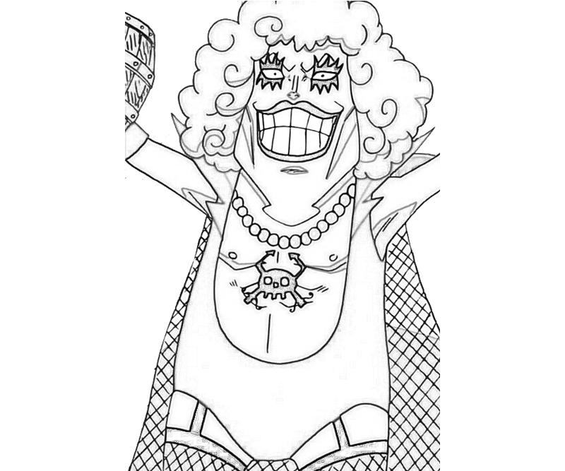 One Piece Coloring Pages http://howmakewebsite.blogspot.com/2012/10/one-piece-emporio-ivankov-cute.html
