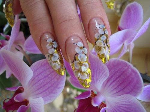 ACRYLIC NAILS: Trend Fashion Gel Nails