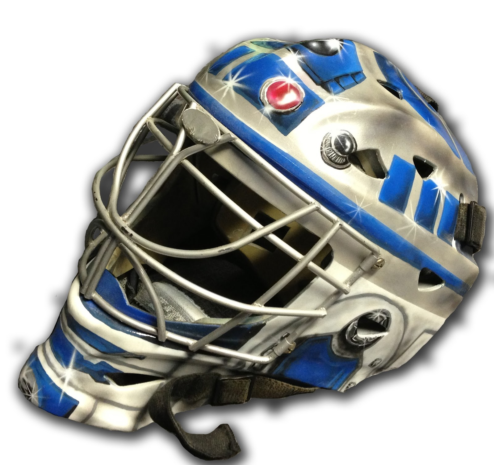 Hockey in art r2 d2 star wars goalie mask maxwellsz