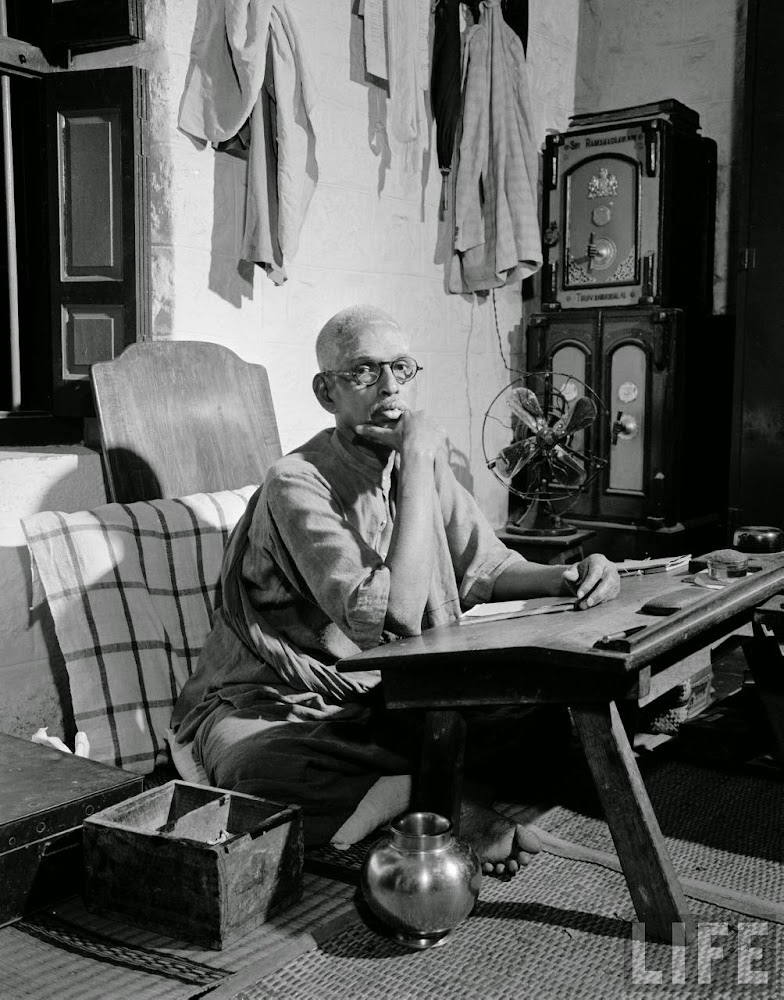 Brother of Hindu Spiritual Guru Ramana Maharshi - 1949