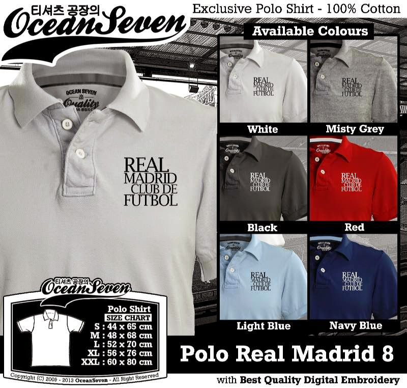 Kaos Polo Real Madrid 8