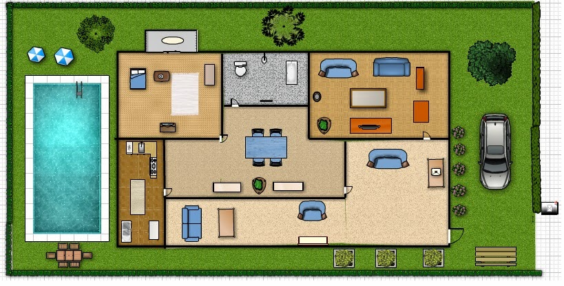 Assignments in comp 101 floor plan my dream house for Dream home floor plans