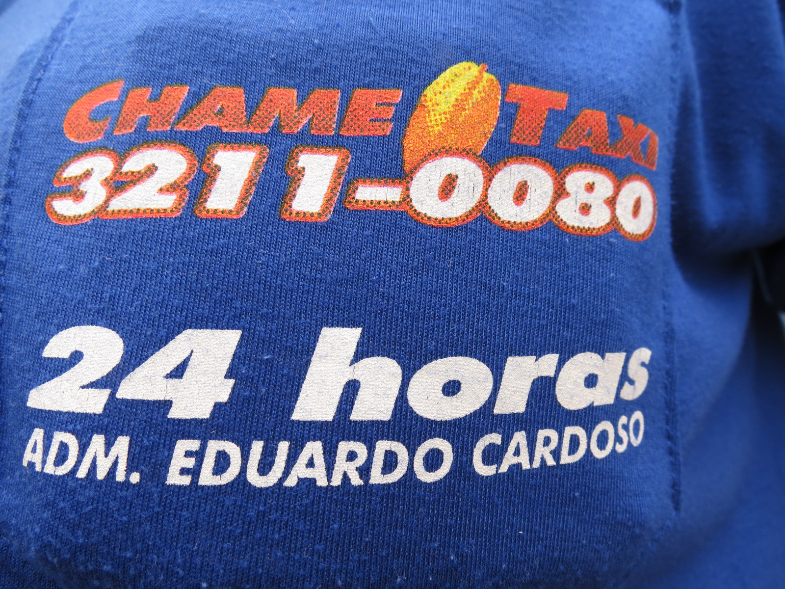 CHAME TAXI 24 Hs.