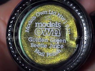 Models Own Golden Green Beetle Juice