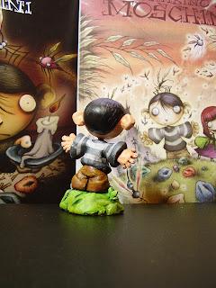 orme magiche il bambino dei moschini statuette sculture action figure fatta a mano modellini da colorare fumetti